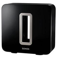 Sonos SUB I Subwoofer für das Sonos Smart Speaker System (schwarz)