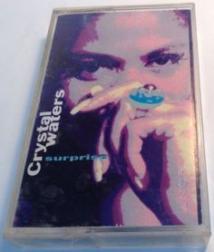 CRYSTAL WATERS Tape Cassette SURPRISE 1991 Polygram Records Company CANADA