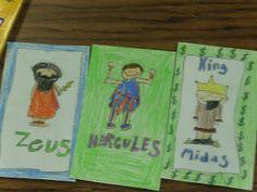 Teaching with Blonde Ambition: More Greek Mythology Fun