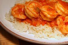 Enchilado de camarones