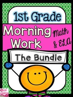 Morning Work / Morning WorkThis Morning Work Bundle is made up of 10 months of morning work packs. Check out the links below to see what is included in each morning work pack. Get the first Morning Work pack for FREE! This Bundle is 50% off for a limited time!Each pack includes 20 days of morning work.