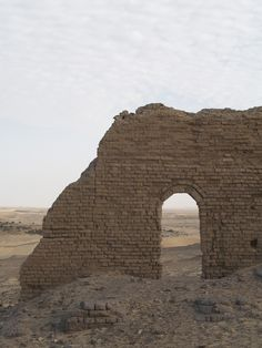 A vaulted passageway embedded in a standing mud brick wall at the Roman fortress and temple at Nadura. by NYU Excavations at Amheida Staff (2006)