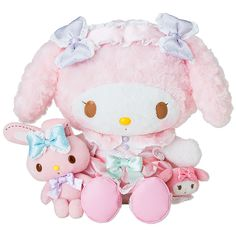 Rakuten My Melody Plush Doll DX (dressed): Sanrio online shop 8100 Yen
