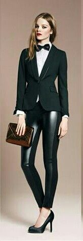Woman suit...I love this look. FIERCE!!!