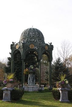 this gazebo can be in my back yard, I mean who wouldn't want this?