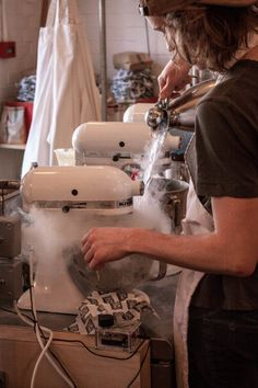 Would you eat ice cream made from liquid nitrogen? Why/ why not?