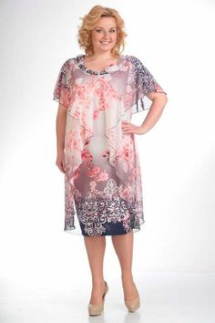 Платья для полных женщин белорусской компании Pretty. Лето 2015 Curvy Girl Fashion, Plus Size Fashion, Womens Fashion, Best Formal Dresses, Casual Dresses, Skirt Fashion, Fashion Dresses, Plus Sise, Dress Sewing Patterns