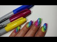 26 Best Sharpie Nail Art Images On Pinterest Pretty Nails Cute