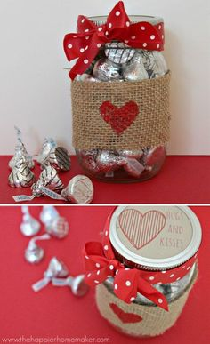 14 easy and cute gift ideas for Valentine's Day – The Unique Valentine's Day Gifts Cute Valentines Day Gifts, Valentines Day Decorations, Valentine Day Crafts, Valentine Gifts For Teachers, Valentines Day Baskets, Office Decorations, Craft Gifts, Diy Gifts, Cadeau Couple