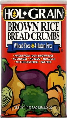 Holgrain Brown Rice Bread Crumbs Gluten Free -- 8 oz -- Want additional info? Click on the image.