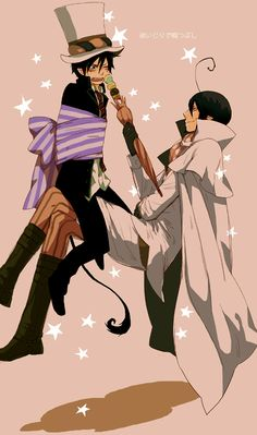 Rin and Mephisto