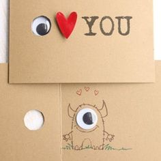 DIY card or a winky face, not as scary