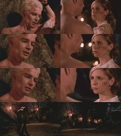 Buffy and Spike's special moment in season 7.