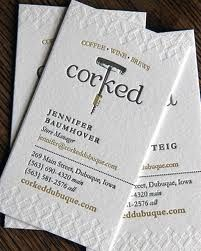 raised and embossed lettering businesscards printing texture design - Raised Lettering Business Cards