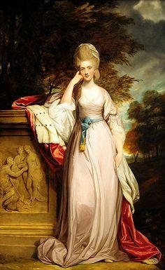 Anne Viscountess of Townsend 1780 English Art Print Sir Joshua Reynolds