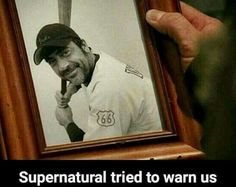 Supernatural walking dead negan