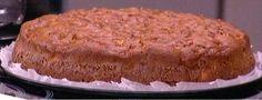 Κέικ με ελαιόλαδο, μήλο και frosting από μέλι