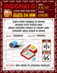 Live 2D Togel Wap Online Indonalo Bandung 28 Juli 2017