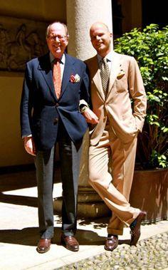 Dos generaciones; Luca y Mariano.