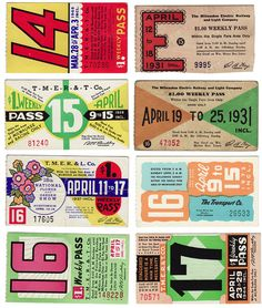 Vintage U.S Bus Pass Graphics – Vintage Inspiration graphics