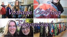 VINTAGE CLOTHING SHOPPING IN CAMBRIDGE!