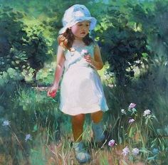 Little Flower by Vladimir Volegov