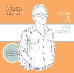 ryan gosling coloring book