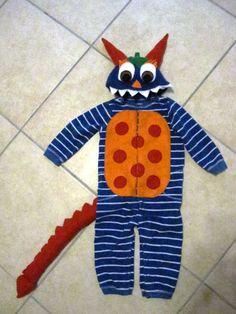 Toddler Monster Costume Size 2T