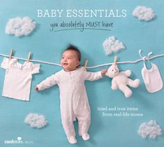 Baby essentials you absolutely must have - tried and true items from real-life moms   Cardstore Blog