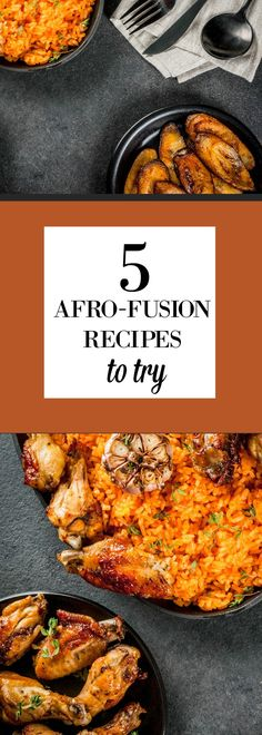 What is Afro-Fusion Cooking? via @foodsfromafrica