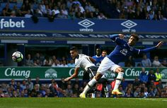 Lamela heads home Kyle Walkers cross to equalise away to Everton. Match ended 1-1. 13/08/16