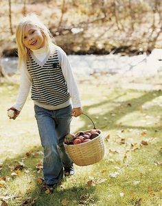 Apple picking picnic