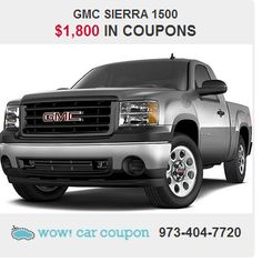 GMC has outdone itself with  this great-looking #GMCSierra1500! Refined and quiet ride, pleasing fit and finish inside. It also has some great #discount #coupons!! Check it out www.wowcarcoupon.com!! #wowcarcoupon #bestcarcoupons