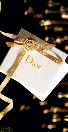 "~Dior ""The Art of Gifting"" ad for Holiday 2014 
