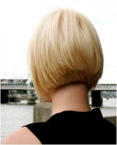 Classic-short-blonde-bob-cut-for-women-back-view