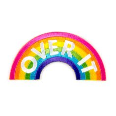 Over It Patch - These Are Things