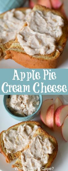 All your favorite fall flavors in a creamy spread. With great spices and a creamy texture the perfect toast topper. Flavored Cream Cheeses, Cream Cheese Recipes, Flavored Butter, Toast Toppers, Real Food Recipes, Yummy Food, Yummy Recipes, Cream Cheese Spreads