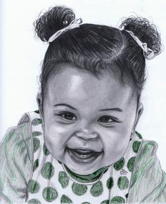 Kaleigh in pencil - Sketching by Gil Fong at touchtalent