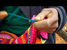 Bilum making in Paigatasa- Some better closeups of the finger work.