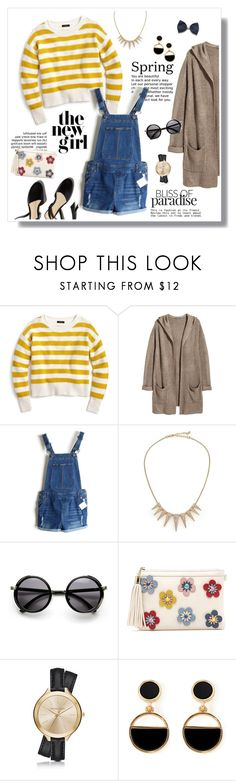 """""""Spring Has Sprung"""" by kaitlyngertrude ❤ liked on Polyvore featuring J.Crew, H&M, ABS by Allen Schwartz, Michael Kors, Warehouse, Spring, contest, springhassprung, contestentry and sprung"""