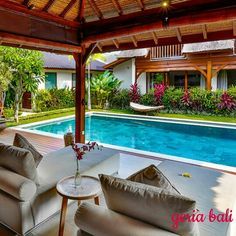 is a tropical 5-bedroom villa retreat that combines the pleasures of #modern living with #traditional #Balinese #designs and outdoor avenues. The villa offers relaxed #holiday living along with luxury and warm Balinese #hospitality. The villa, set in a #quiet area, is perfect for couples, large #families and friends seeking privacy, #tranquillity and sheer relaxation. The location of the villa is 10 minutes from #Seminyak www.geriabalivacation.com/villa-bibi/ #bali #beautifuldestination…