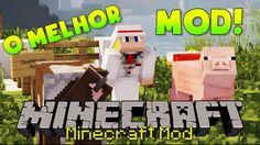 Minecraft Mod: O MELHOR MOD QUE EU JÁ VI :O | Deixe Sua Morte Mais Legal!