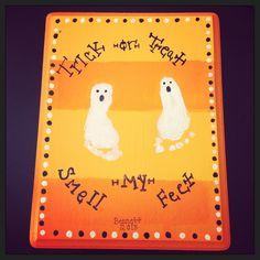 Foot print ghosts!