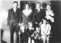 Lawson Family, 12/25/29.  Later that day, Charles murdered the entire family…