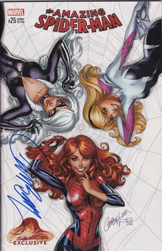 Exclusive ultra rare variant cover by J. Scott Cambell (Internet Exclusive). Signed by J. Scott Campbell! comes with certificate of authenticity numbered 1434. Comes in a sealed bag. The Osborn Identity: Part 1 of 4 - Written by Christos Gage...