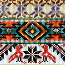 Image result for Native American Tribal Beading Patterns
