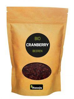 BIO Cranberry, Chranberrie Beeren, 1000 g, Bio-zertifiziert von HANOJU