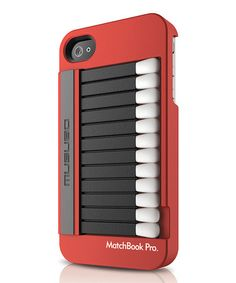 Cool Stuff We Like Here @ CoolPile.com ------- << Original Comment >> ------- Red Matchbook Pro Case for iPhone 4S by Musubo