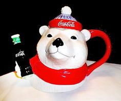 Coca-Cola Polar Bear Teapot