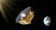 LISA Pathfinder, the technology testbed mission for a future gravitational-wave detector, turns out to be a surprisingly good micrometeoroid hunter. The post LISA Pathfinder: From Gravitational Waves to Space Dust appeared first on Sky & Telescope. Lisa, Gravity Waves, Les Satellites, Space Dust, Gravitational Waves, Space Probe, Nasa Space, Space Telescope, Milky Way